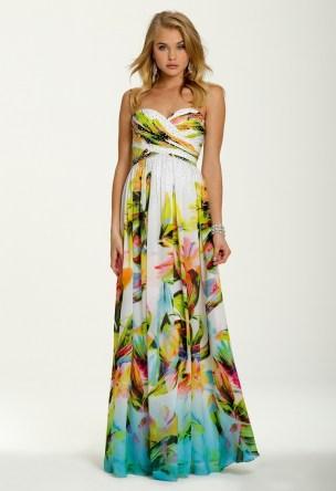 hawaiian prints dresses ideas 73