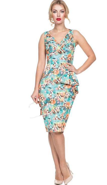 hawaiian prints dresses ideas 77