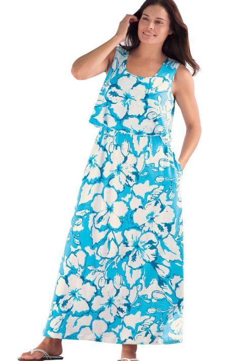hawaiian prints dresses ideas 8