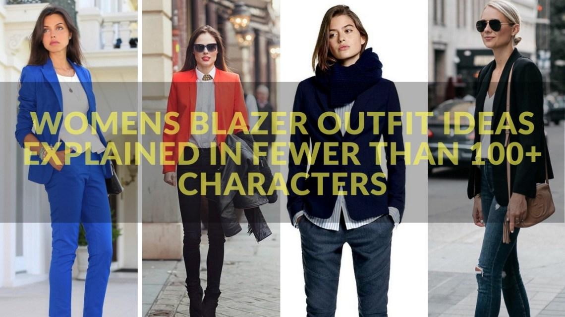 womens blazer outfit ideas 1