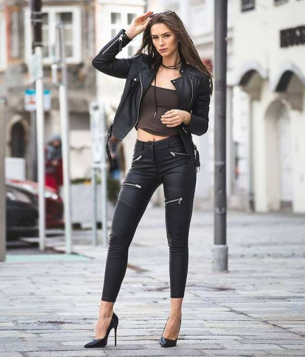 90 Style A Leather Jacket Ideas 44