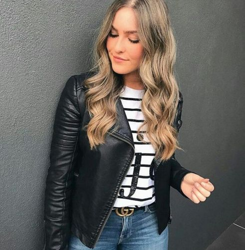 90 Style A Leather Jacket Ideas 53