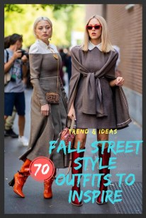 FALL STREET STYLE OUTFITS TO INSPIRE