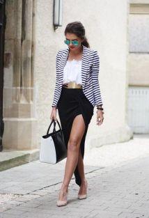 40 Asymmetric Skirts Street Styles Ideas 10