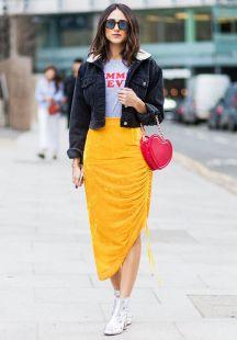 40 Asymmetric Skirts Street Styles Ideas 2
