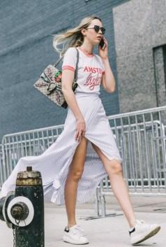 40 Asymmetric Skirts Street Styles Ideas 22