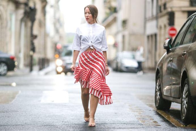40 Asymmetric Skirts Street Styles Ideas 23