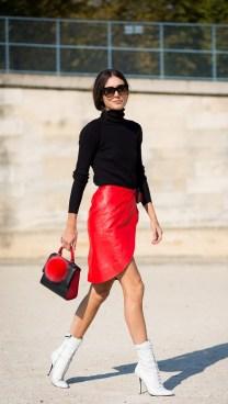 40 Asymmetric Skirts Street Styles Ideas 3