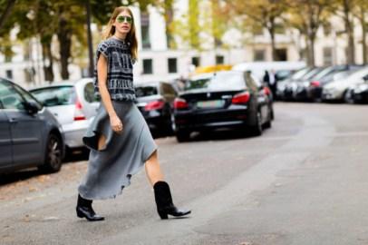 40 Asymmetric Skirts Street Styles Ideas 4