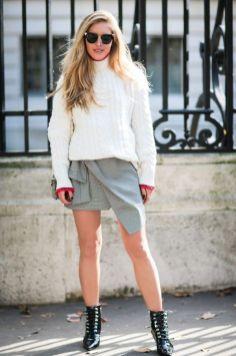 40 Asymmetric Skirts Street Styles Ideas 9