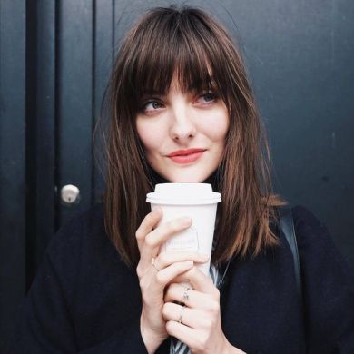 40 Bangs Hairstyles You Need to Try Ideas 11
