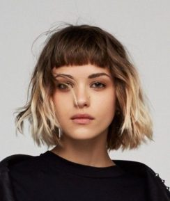 40 Bangs Hairstyles You Need to Try Ideas 30