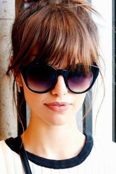 40 Bangs Hairstyles You Need to Try Ideas 40