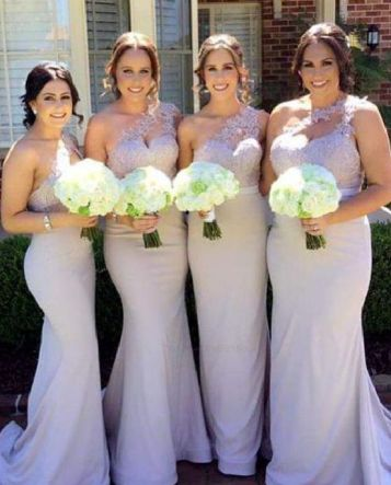 40 Bridesmaid with Mermaid Dresses to Copy Ideas 19