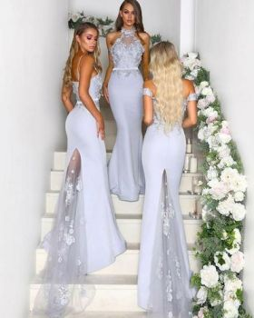 40 Bridesmaid with Mermaid Dresses to Copy Ideas 26