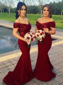 40 Bridesmaid with Mermaid Dresses to Copy Ideas 36