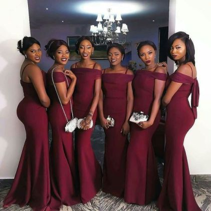 40 Bridesmaid with Mermaid Dresses to Copy Ideas 45