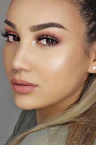 40 Brown Eyes Simple Makeup Ideas 13