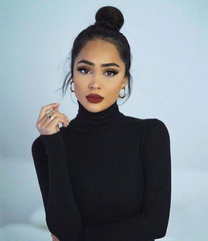 40 Brown Eyes Simple Makeup Ideas 5