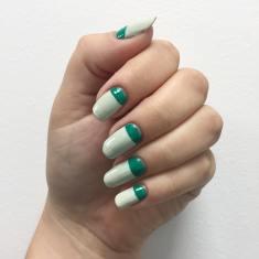 40 Chic Green Nail Art Ideas 24