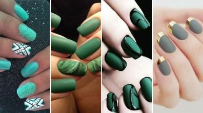 40 Chic Green Nail Art Ideas
