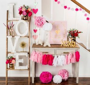 40 Chic Valentine Party Decoration Ideas 1