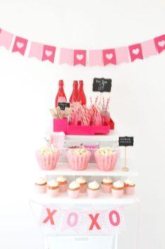 40 Chic Valentine Party Decoration Ideas 10