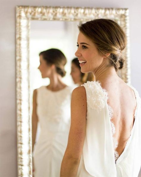 40 Deep V Open Back Wedding Dresses Ideas 30