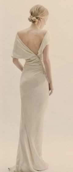 40 Deep V Open Back Wedding Dresses Ideas 8