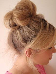 40 High Messy Bun Hairstyles Ideas 24