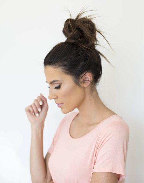 40 High Messy Bun Hairstyles Ideas 28