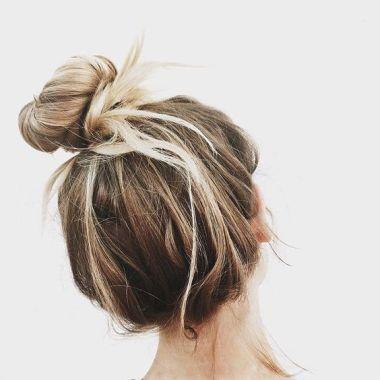 40 High Messy Bun Hairstyles Ideas 33