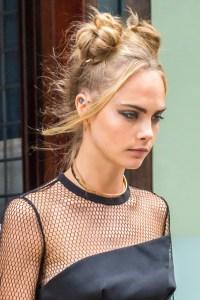 40 High Messy Bun Hairstyles Ideas 41