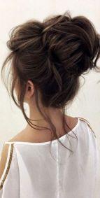 40 High Messy Bun Hairstyles Ideas 8