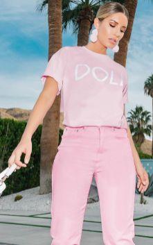 40 Pink T Shirt Street Styles Ideas 1