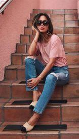 40 Pink T Shirt Street Styles Ideas 17