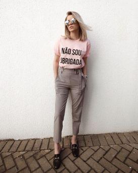 40 Pink T Shirt Street Styles Ideas 26