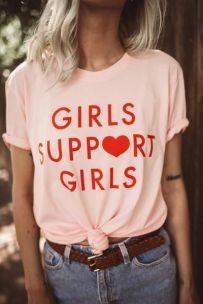40 Pink T Shirt Street Styles Ideas 27