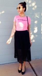 40 Pink T Shirt Street Styles Ideas 36