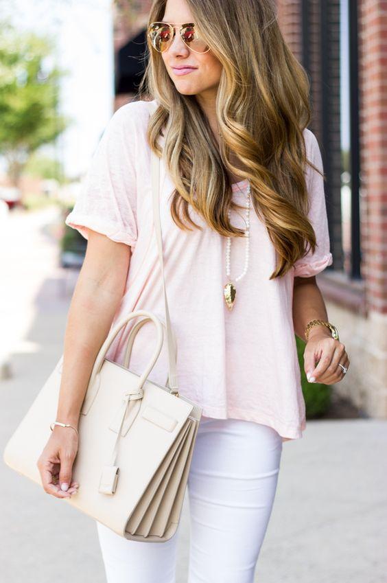 40 Pink T Shirt Street Styles Ideas 6