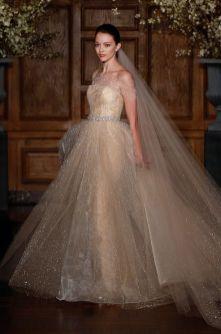 40 Shimmering Bridal Dresses Ideas 15