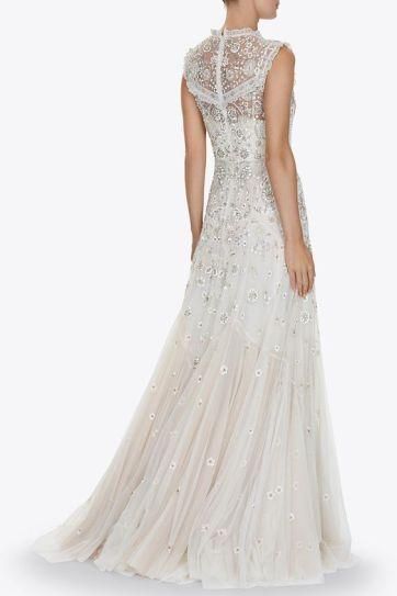 40 Shimmering Bridal Dresses Ideas 20