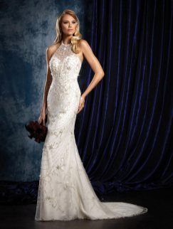 40 Shimmering Bridal Dresses Ideas 21