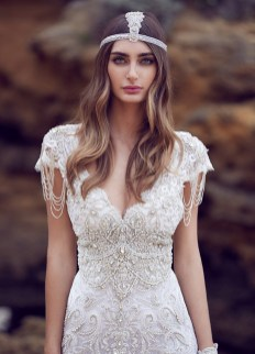 40 Shimmering Bridal Dresses Ideas 22