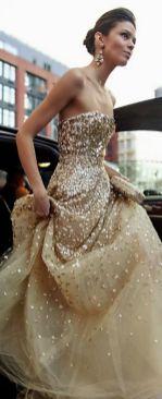 40 Shimmering Bridal Dresses Ideas 35