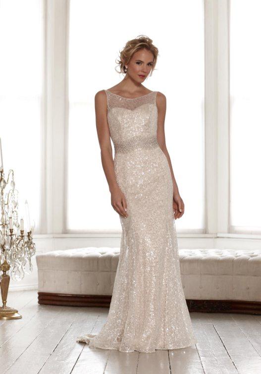 40 Shimmering Bridal Dresses Ideas 38