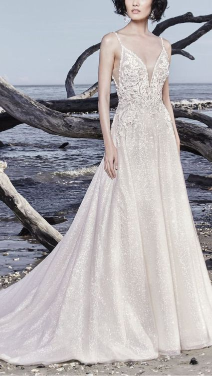 40 Shimmering Bridal Dresses Ideas 39