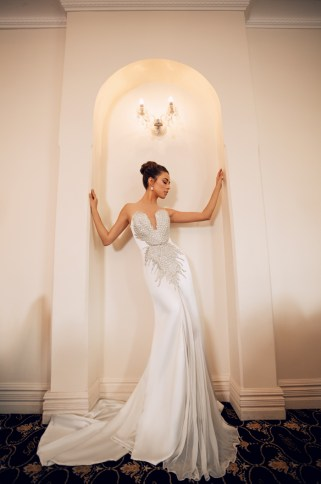 40 Shimmering Bridal Dresses Ideas 5