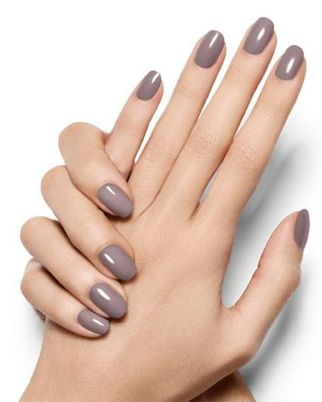 40 Simple Grey Nail Art Ideas 11 2