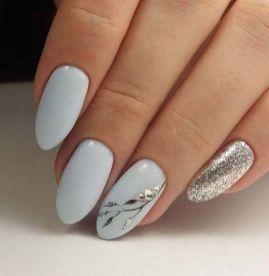 40 Simple Grey Nail Art Ideas 23 2